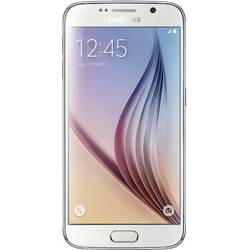 Galaxy S6 G920, Super AMOLED capacitive touchscreen 5.1'', Quad Core 2.1GHz si 1.5GHz, 3GB RAM, 128GB flash, 16MP si 5.0MP, NFC, Android 5.0.2, Alb