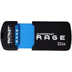 Supersonic Rage, 32GB, USB 3.0, Negru
