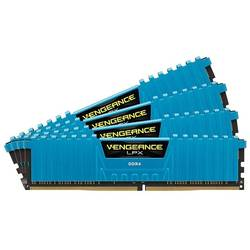 Vengeance LPX Blue 32GB DDR4 2666Hz CL16 Kit Quad Channel