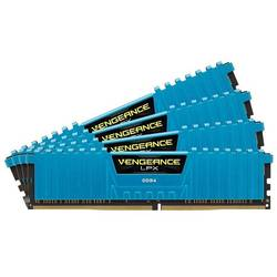 Vengeance LPX Blue, 16GB DDR4, 2400MHz CL14, Kit Quad Channel