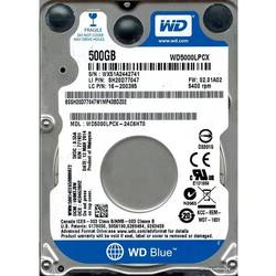 Blue, 500GB, 5400RPM, 16MB, SATA 3, WD5000LPCX