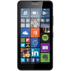 Lumia 640, Dual SIM, 1GB RAM, 8GB, Quad Core 1.2GHz, 8MP, 5.0'' IPS LCD touchscreen, Windows Phone 8.1, 3G, Negru