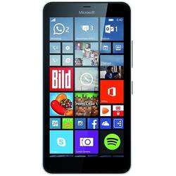 Lumia 640 XL, Dual SIM, 1GB Ram, 8GB, 13MP, 5.7'' IPS LCD touchscreen, Windows Phone 8.1, 3G, Alb