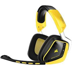 VOID 7.1, Wireless, RGB Lighting, Special Edition Yellowjacket, Negru/Galben