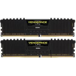 Vengeance LPX Black, 16GB, DDR4, 3000MHz, CL15, Kit Dual Channel