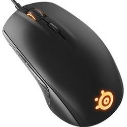 Rival 100, Optic, USB, Negru