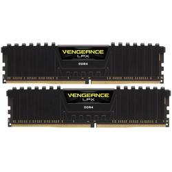 Vengeance LPX Black, 8GB, DDR4, 2400MHz, CL16, Kit Dual Channel