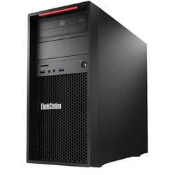 Sistem brand Lenovo ThinkStation P300 Tower, Xeon E3-1226 v3 3.3GHz, 8GB DDR3, 1TB + 8GB SSHD, Intel HD P4600, Win 7 Pro 64bit + Win 8.1 Pro 64bit, 450W, Negru
