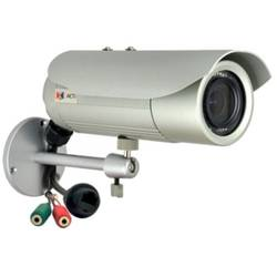 E47, Bullet, Digitala, 2.8 - 12mm, 1.3MP, 1/3 Progressive Scan CMOS, IR LED, Detectie miscare, Argintiu