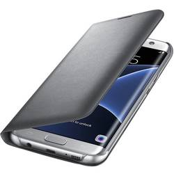 Husa protectie Led View Cover pentru Samsung Galaxy S7 Edge G935, Silver