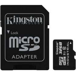 Micro SDXC 32GB UHS-I Industrial Temp Card + adaptor la SD