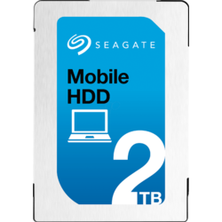 Mobile HDD, 2TB, 5400RPM, 128MB, SATA 3, ST2000LM007