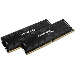 HyperX Predator Black, DDR4, 8GB, 3000MHz, CL15, 1.35V, Kit Dual Channel