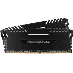 Vengeance White LED, 16GB, DDR4, 3000MHz, CL15, 1.35V, Kit Dual Channel