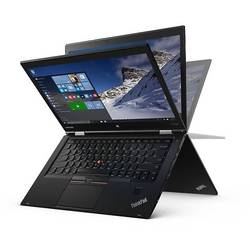 ThinkPad X1 Yoga, 14.0'' WQHD Touch, Core i7-6500U 2.5GHz, 8GB DDR3, 256GB SSD, Intel HD 520, FingerPrint Reader, Win 10 Pro 64bit, Negru