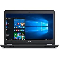 Dell Latitude E5470, 14.0'' HD, Core i3-6100U 2.3GHz, 4GB DDR4, 500GB HDD, Intel HD 520, FingerPrint Reader, Win 7 Pro 64bit + Win10 Pro 64bit, Negru