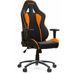 Scaun gaming AKRacing AK-NITRO-OR, Portocaliu