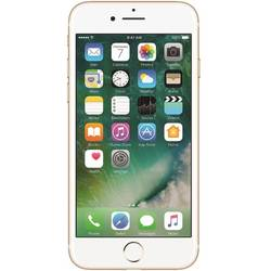 iPhone 7, Single SIM, 4.7'' LED backlit IPS Retina Capacitive Multitouch, Quad Core, 2GB RAM, 128GB, 12MP, 4G, iOS 10, Gold