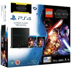 PlayStation 4, 1TB + Joc LEGO Star Wars: The Force Awaken + Film Star Wars on Blu-ray