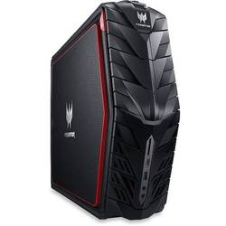 Predator G1-710, Core i7-6700 3.4GHz, 8GB DDR4, 1TB HDD + 256GB SSD, GeForce GTX 1070 8GB, Win 10 Home 64bit, Negru