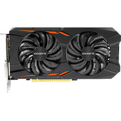 GeForce GTX 1050 Ti Windforce OC 4G, 4GB GDDR5, 128 biti