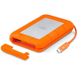 Rugged V2, 2TB, USB3 Thunderbolt, IP54 rated resistance, Portocaliu