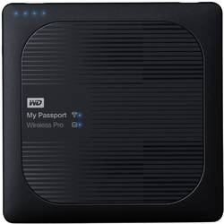 My Passport Wireless Pro, 2TB, USB 3.0, Negru