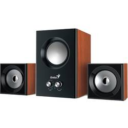 SW-2.1 375, 2.1, 12W RMS, Jack 3.5mm, Wood