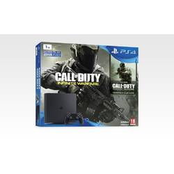PS4 1TB D Chassis Black + Call of Duty Infinite Warfare