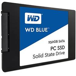 Blue 250GB SATA 3, 2.5 inch