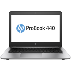 ProBook 440 G4, 14.0'' FHD, Core i5-7200U 2.5GHz, 4GB DDR4, 128GB SSD, Intel HD 620, FingerPrint Reader, FreeDOS, Argintiu