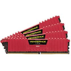 Vengeance LPX Red 64GB DDR4 2133MHz CL13 Kit Quad Channel