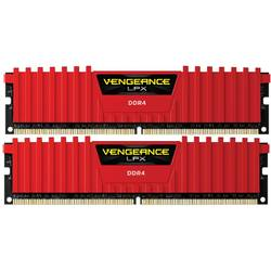 Vengeance LPX Red 8GB DDR4 2400MHz CL14 Kit Dual Channel