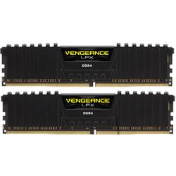 Vengeance LPX Black 8GB DDR4 2666MHz CL16 Kit Dual Channel