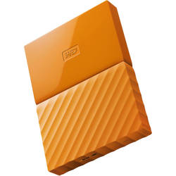 My Passport, 1TB, USB 3.0, Orange