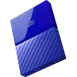 My Passport, 2TB, USB 3.0, Blue