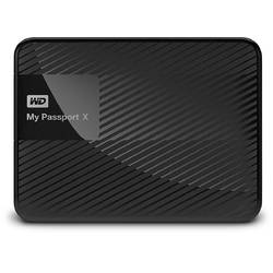 My Passport X, 2TB, USB 3.0, Black