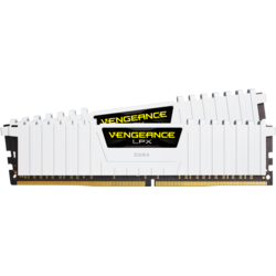 Vengeance LPX White, 32GB, DDR4, 2666MHz, CL16, 1.2V Kit Dual
