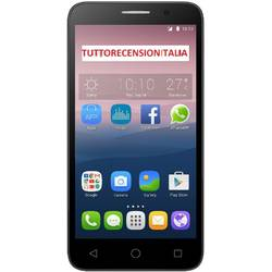 One Touch Pop 3 (5), Dual SIM, 5.0'' TFT Multitouch, Quad Core 1.3GHz, 1GB RAM, 8GB, 5MP, 3G, Argintiu