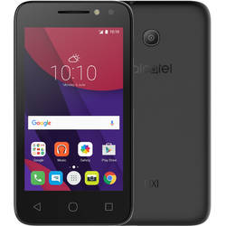 Pixi 4 4, Single SIM, 4.0'' TFT Multitouch, Quad Core 1.3GHz, 512MB RAM, 4GB, 2MP, 3G, Negru
