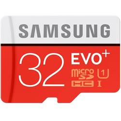 Micro SDHC EVO Plus UHS-I Class 10 32GB + Adaptor SD