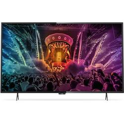Smart TV 55PUH6101/88, 139cm, 4K UHD, Negru