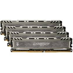 Ballistix Sport LT 32GB DDR4 2400MHz CL16 Kit Quad Channel