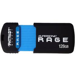 Supersonic Rage, 128GB, USB 3.0, Negru