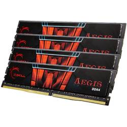 Aegis 32GB DDR4 2400MHz, CL15 Kit Quad Channel