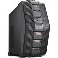 Predator G3-710, Core i5-6400 2.7GHz, 8GB DDR4, 2TB HDD + 256GB SSD, GeForce GTX 1060 3GB, FreeDOS, Negru