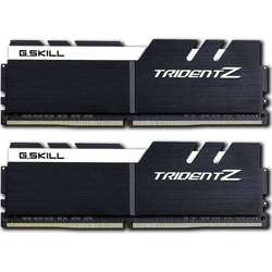 TridentZ 32GB DDR4 3200MHz, CL16 Kit Dual Channel, Black/White
