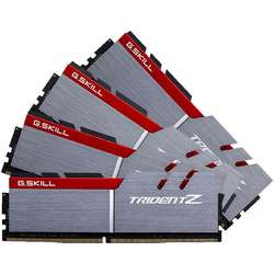 TridentZ 32GB DDR4 3400MHz, CL16 Kit Quad Channel