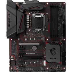 B250 GAMING M3, Socket 1151, ATX