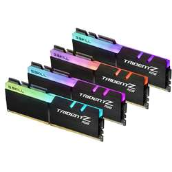 TridentZ RGB 32GB DDR4 3000MHz, CL14 Kit Quad Channel